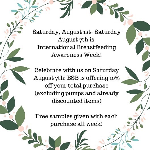 Celebrate International Breastfeeding Week with us!